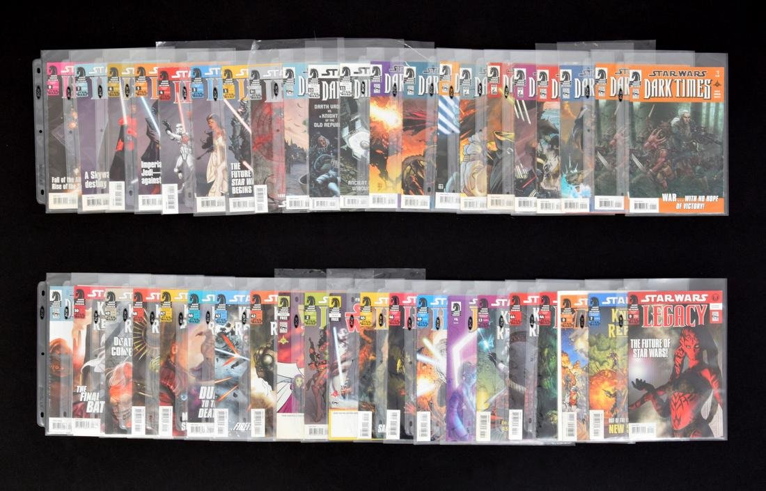 STAR WARS Comic Books & Cassette, Lot of 130+ Issues - 5