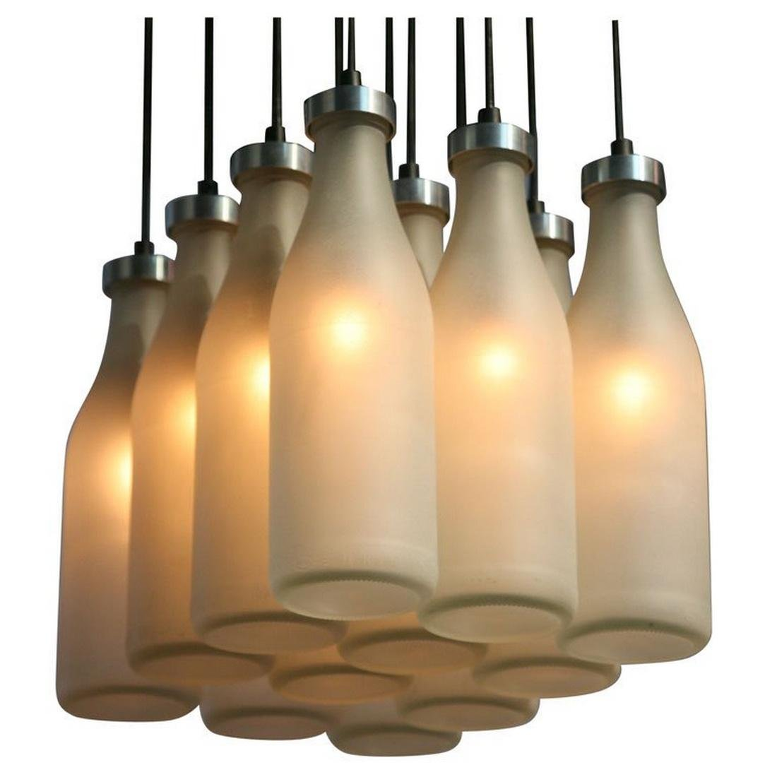 Tejo Remy MILK BOTTLE Chandelier