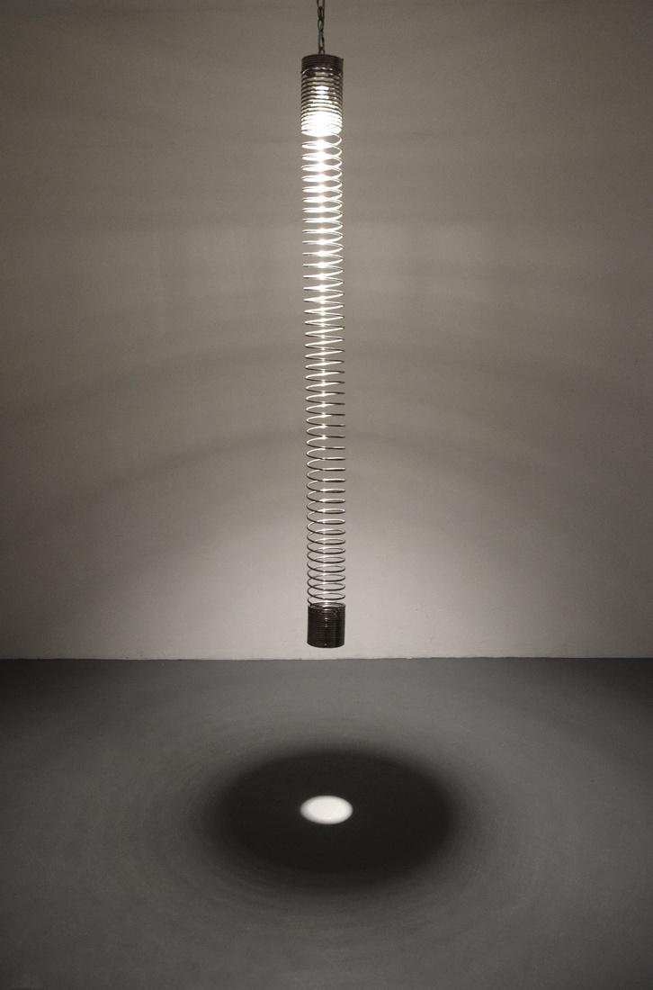 Angelo Mangiarotti SPIRALE Pendant Light