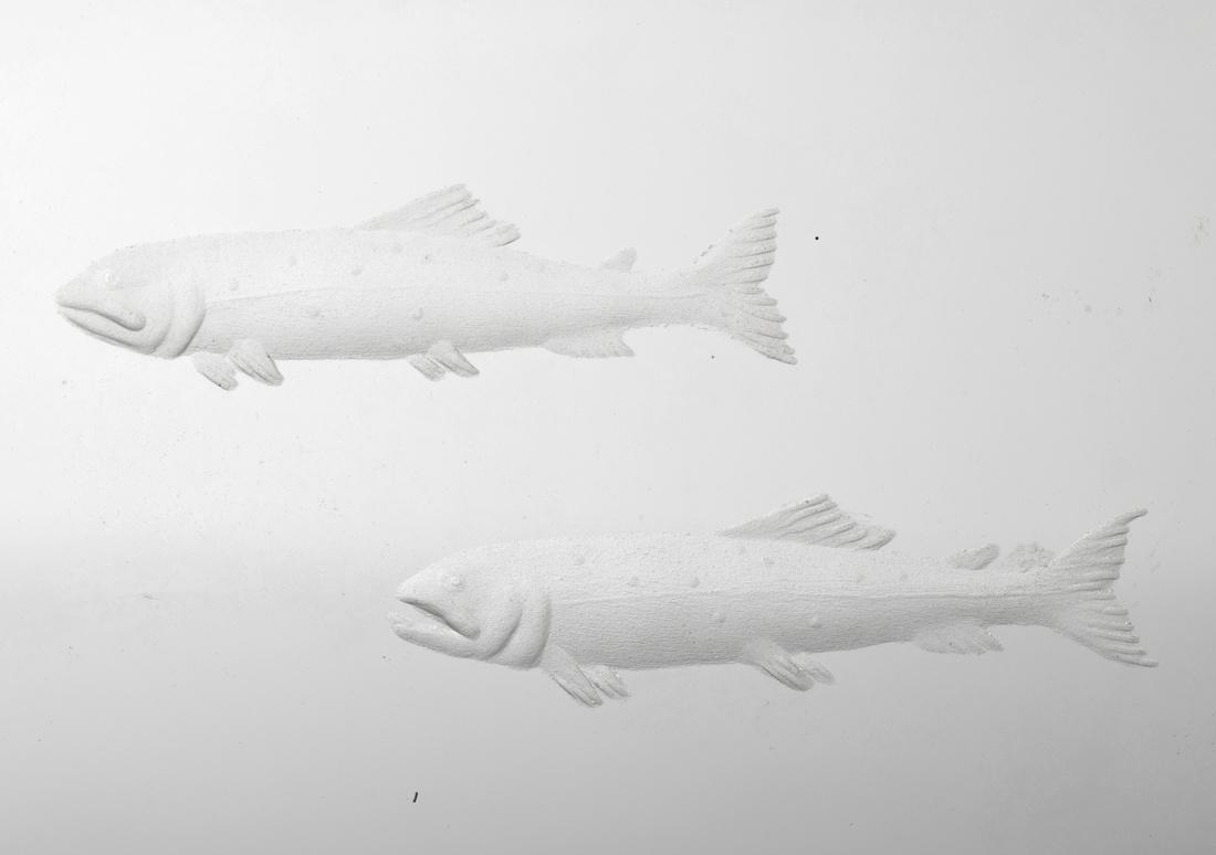 Steuben ARCTIC FISHERMAN Sculpture - 5