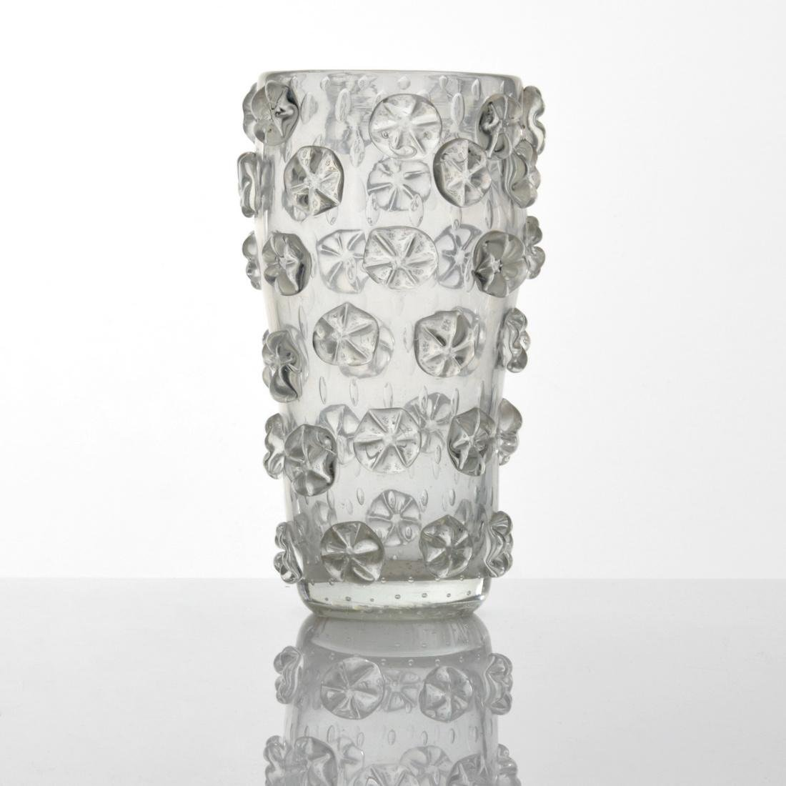 Ercole Barovier A STELLE Vase