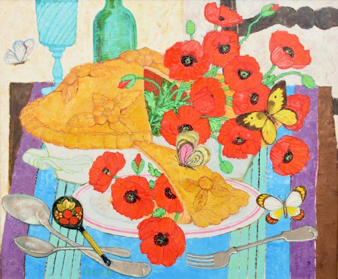 Fred Jessup Painting, Original Work