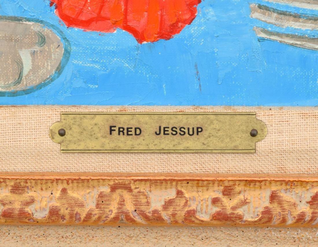 Fred Jessup Painting, Original Work - 3