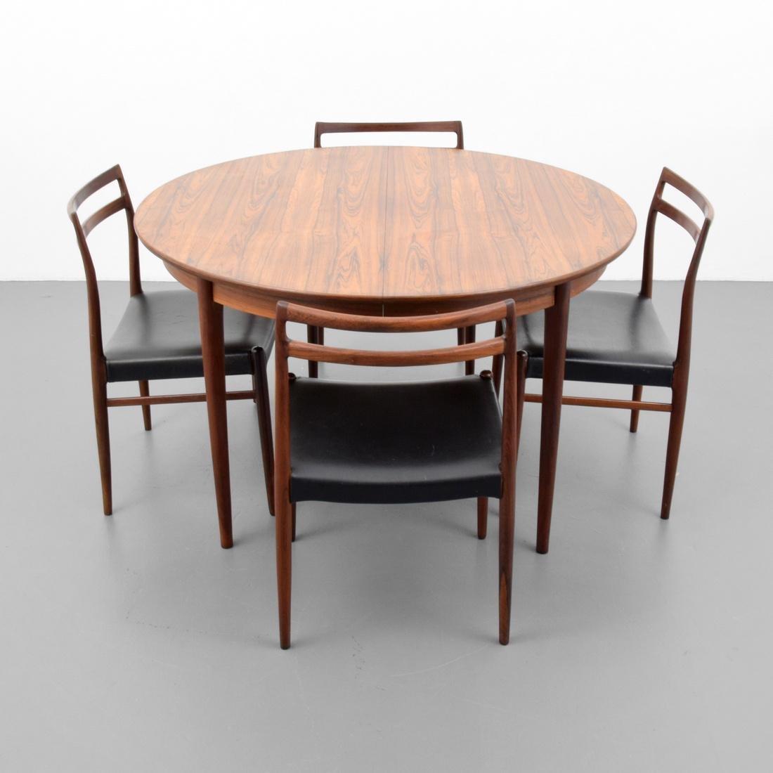Gustav Bahus Rosewood Dining Table - 4