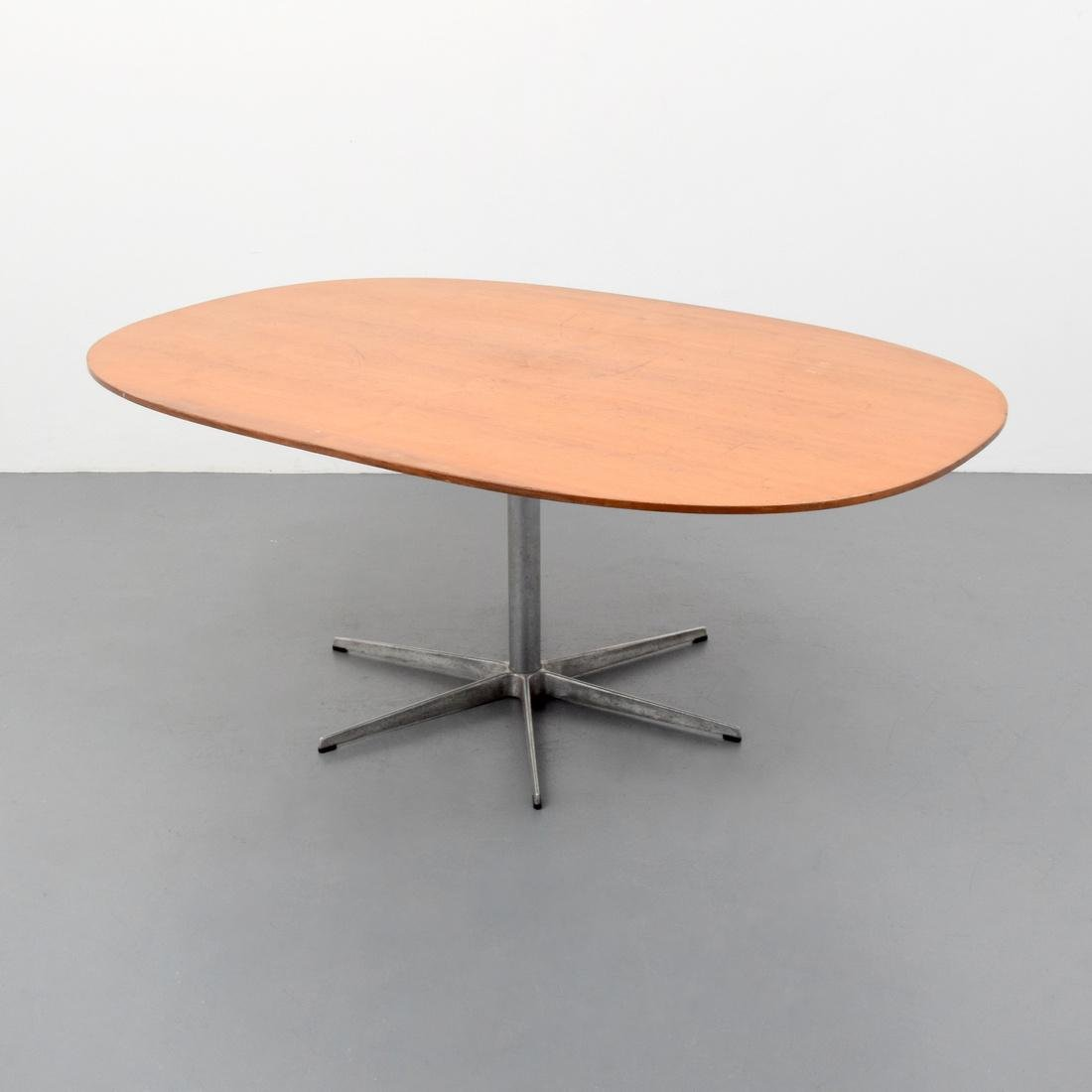 Large Arne Jacobsen & Piet Hein Dining Table