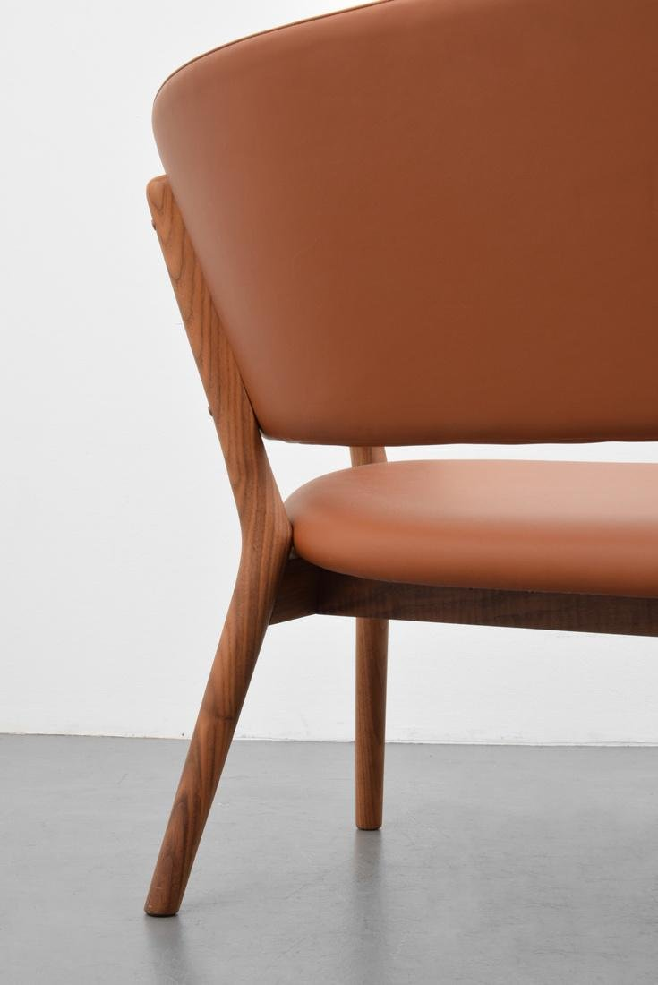 Nanna & Jorgen Ditzel Leather Sofa - 2