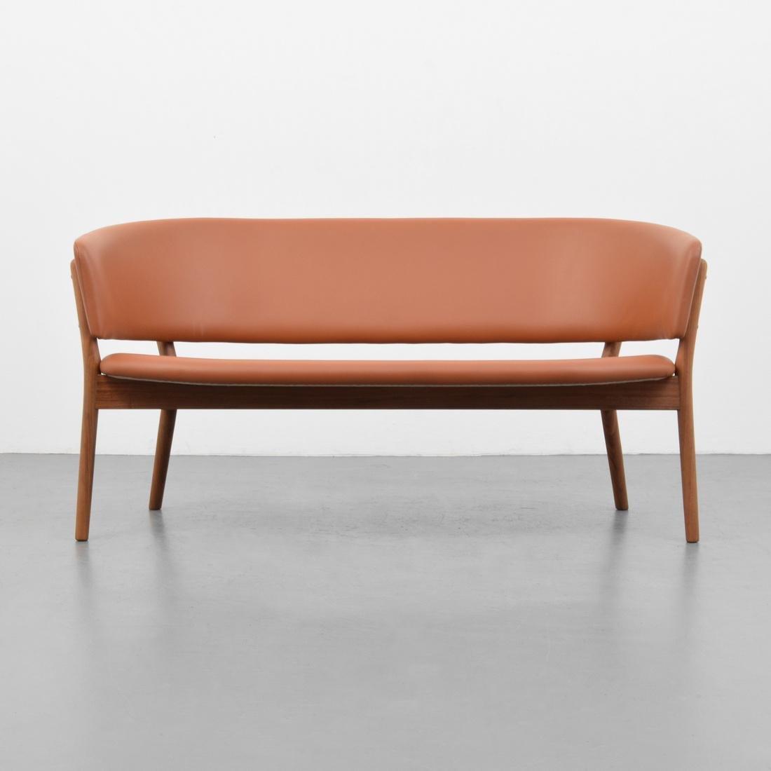 Nanna & Jorgen Ditzel Leather Sofa - 7