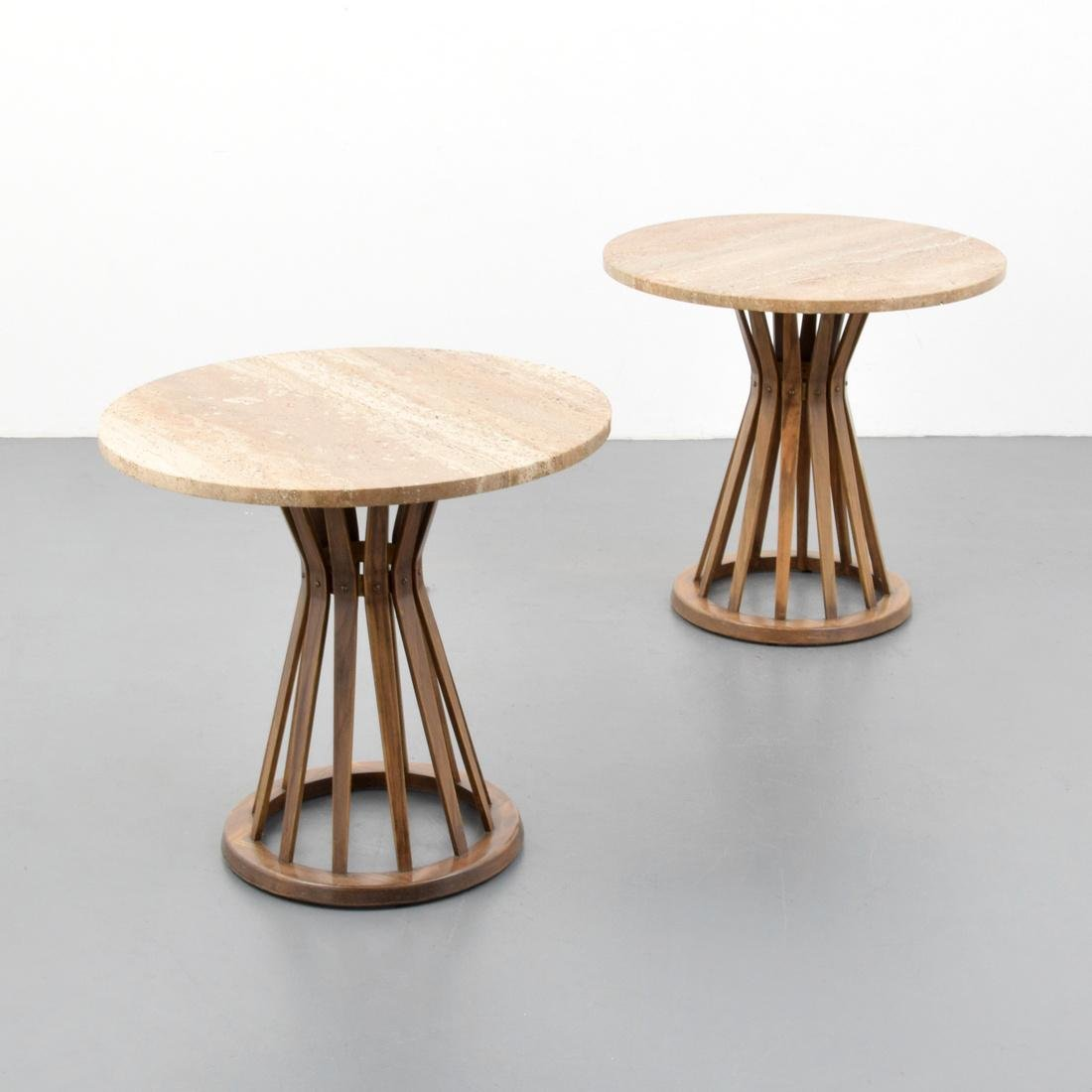 Pair of Edward Wormley SHEAF OF WHEAT Side Tables