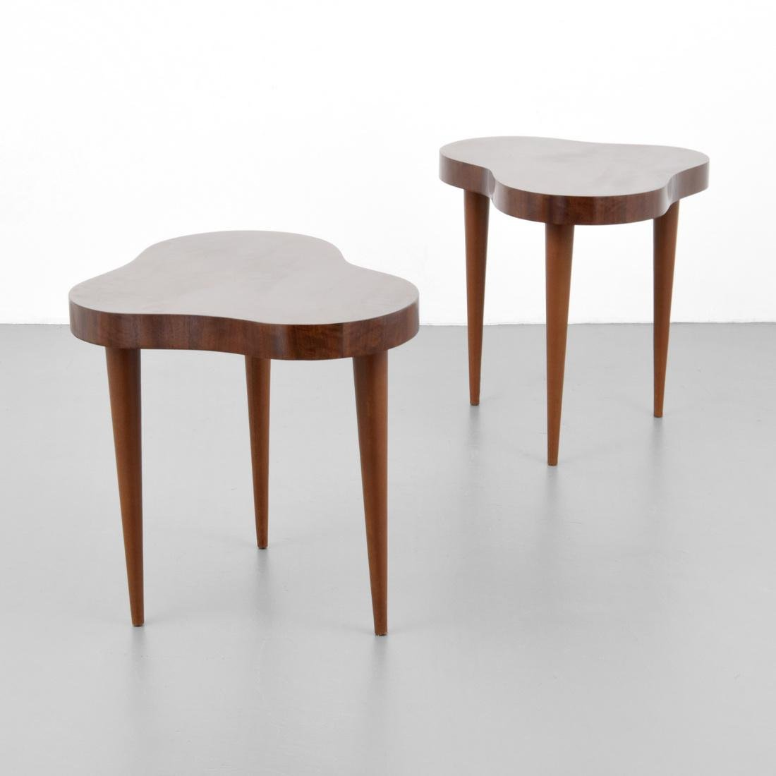 Pair of Gilbert Rohde CLOUD Side Tables