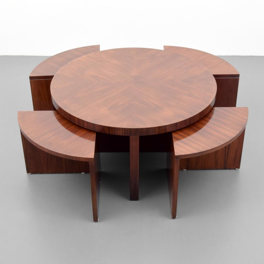 Ralph Lauren DUKE Coffee Table With Nesting Tables