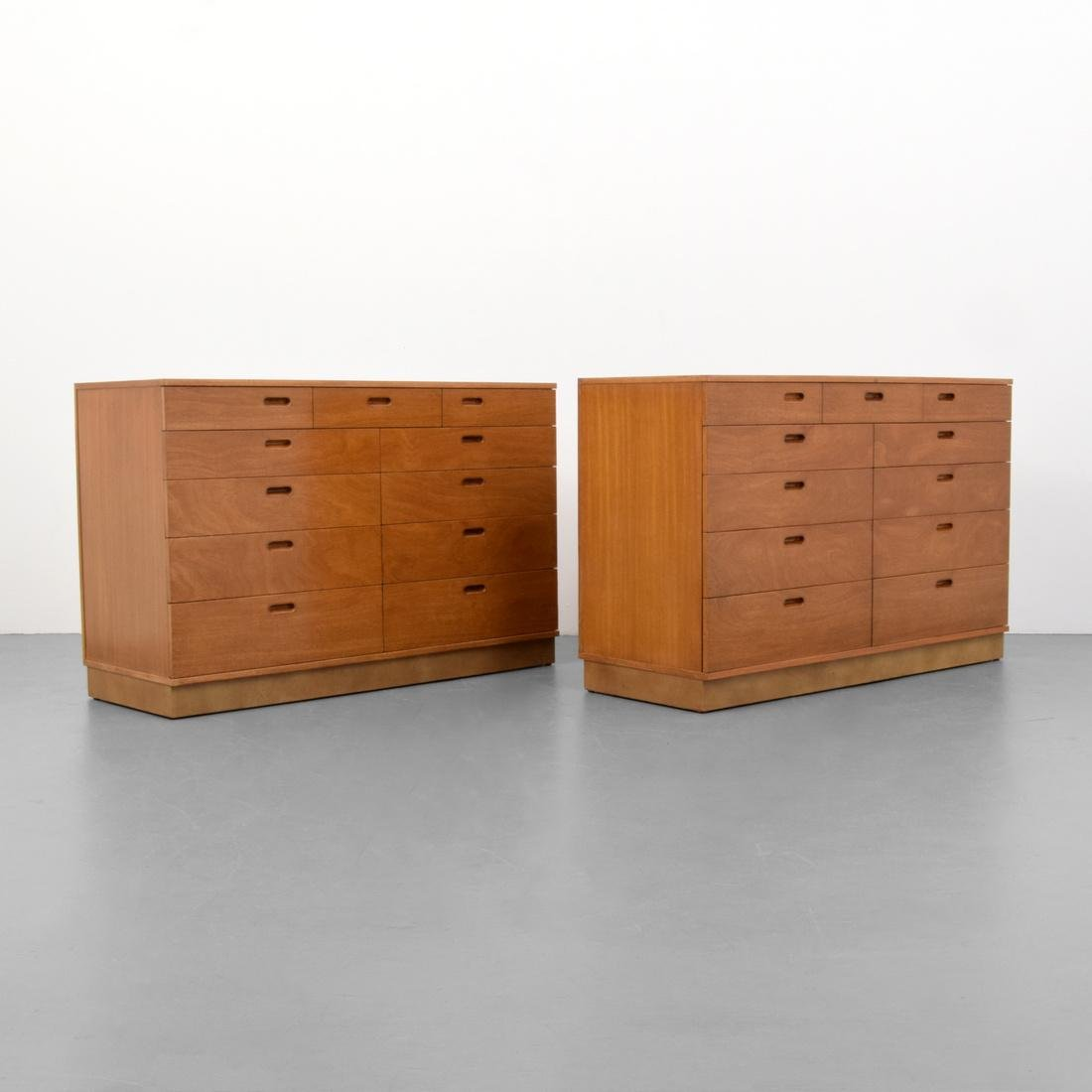 2 Edward Wormley Cabinets