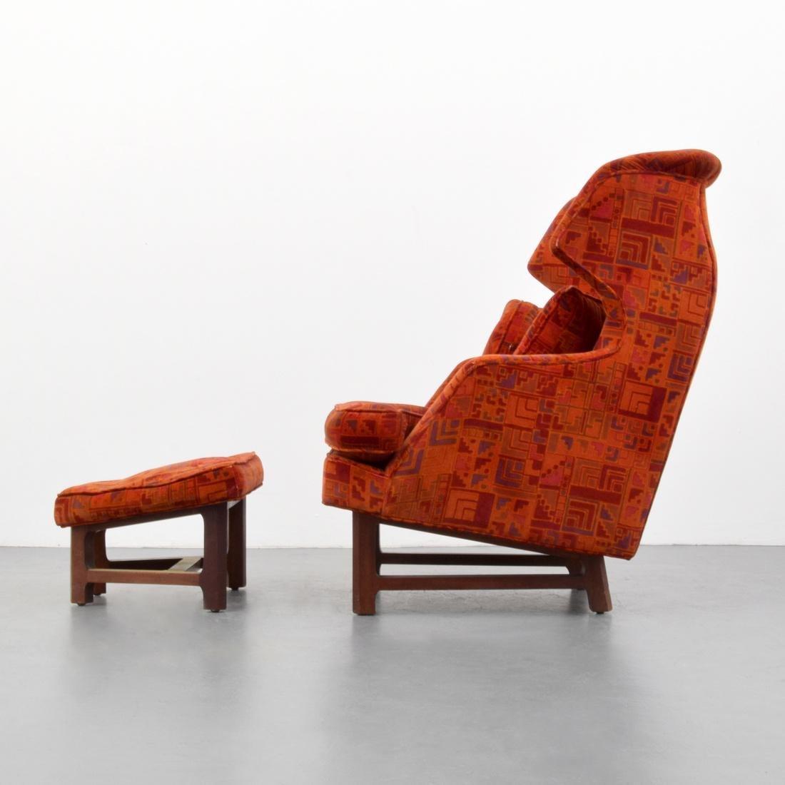 Edward Wormley Lounge Chair & Ottoman - 2