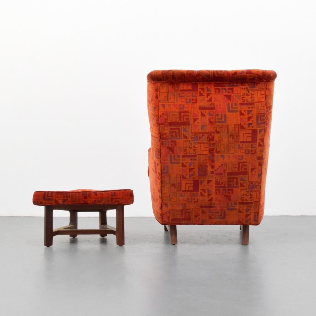 Edward Wormley Lounge Chair & Ottoman - 4
