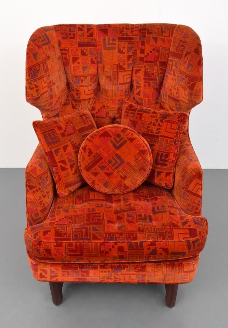Edward Wormley Lounge Chair & Ottoman - 6