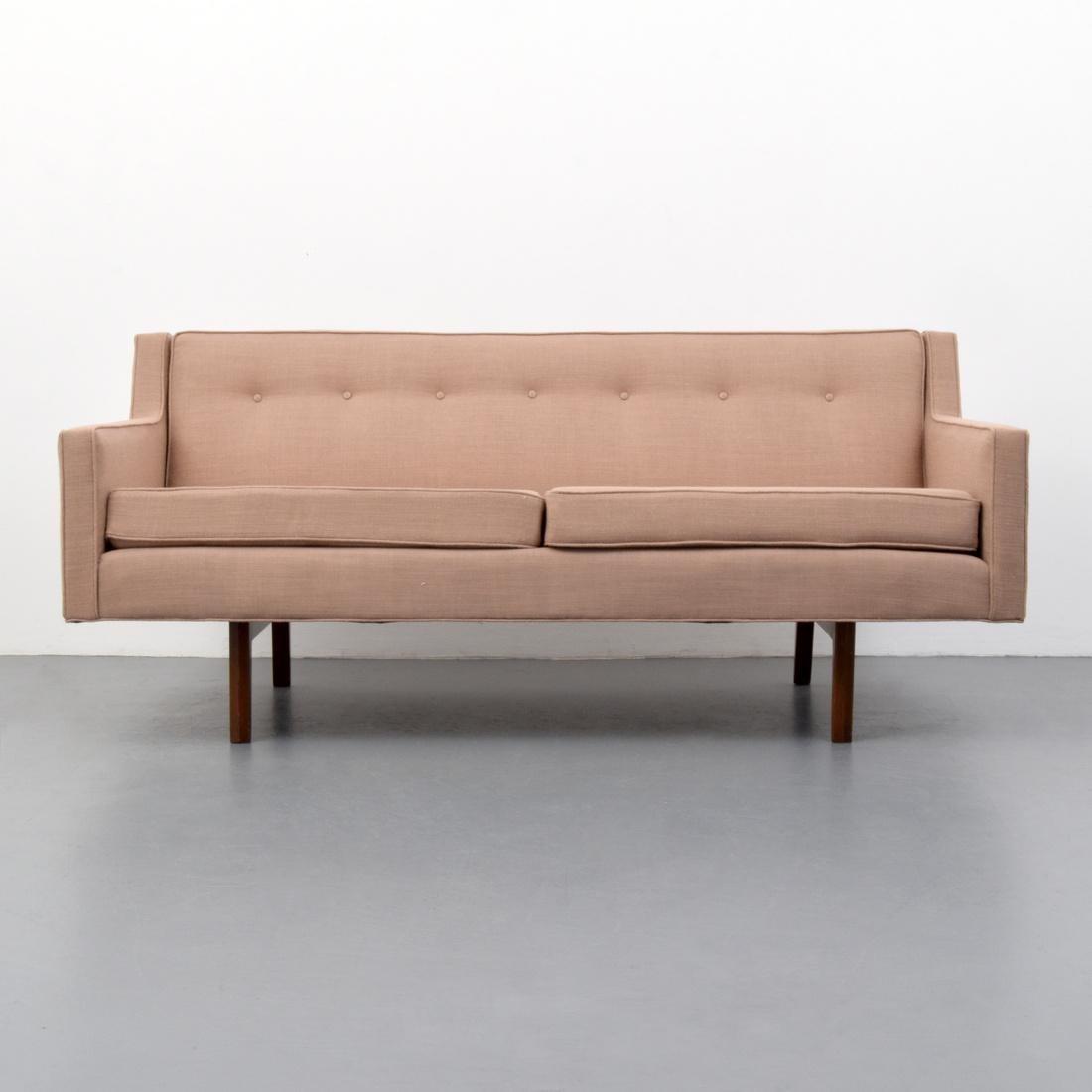 Edward Wormley BRACKET BACK Sofa - 4