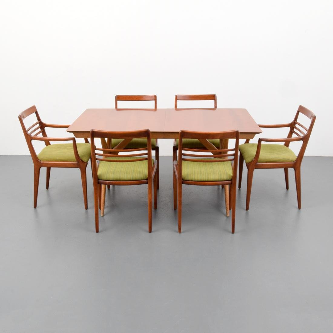 Renzo Rutili Dining Table & 6 Chairs