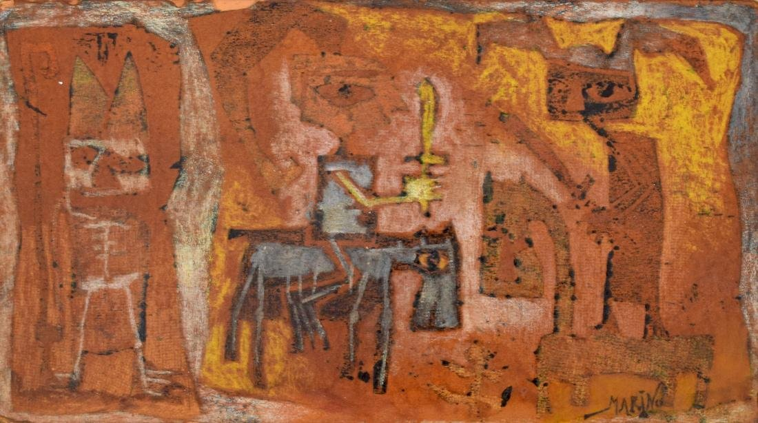 Marino Marini Painting, Original Work