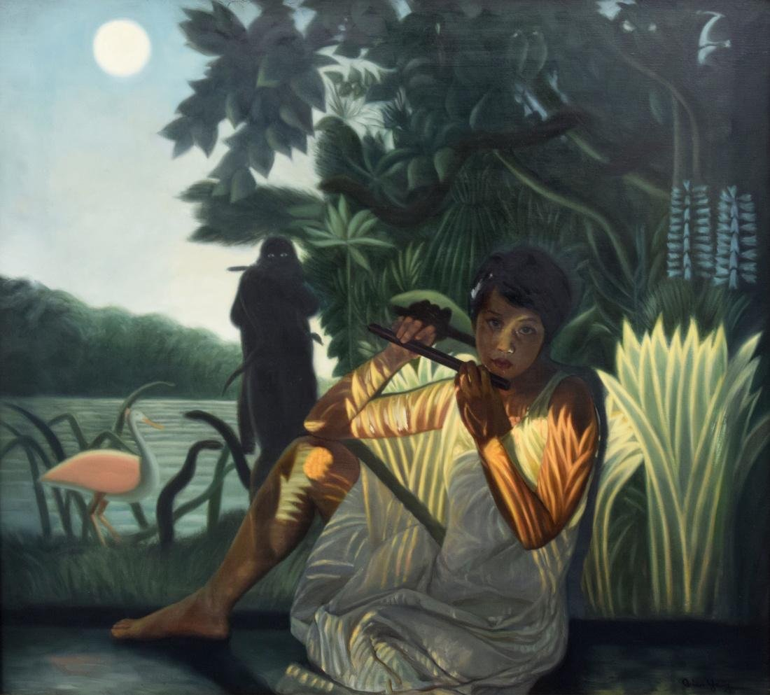 Qian Yang Painting, Original Work