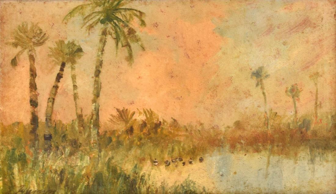Joseph Jefferson Painting, Original Work