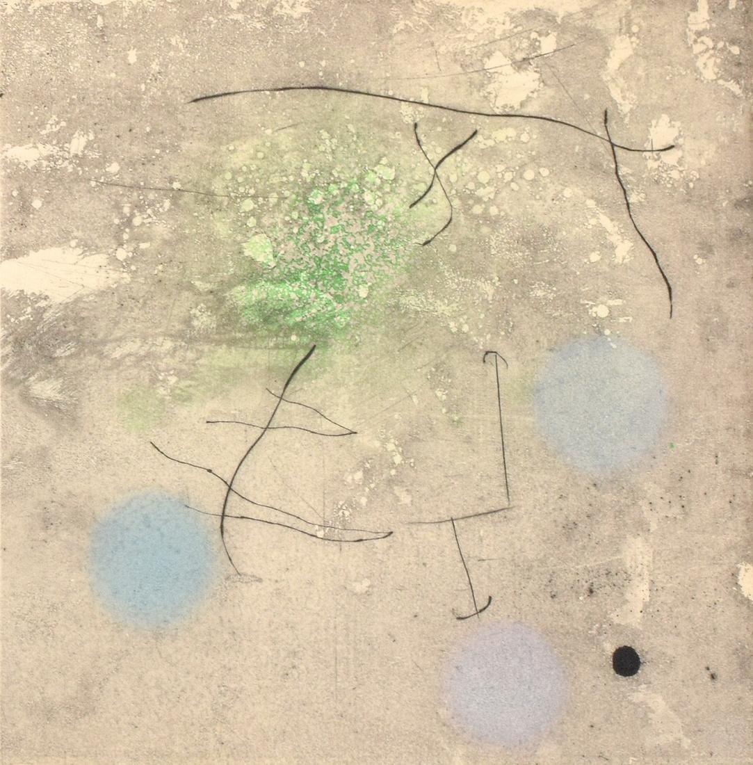 Joan Miro Aquatint/Etching, Signed Edition