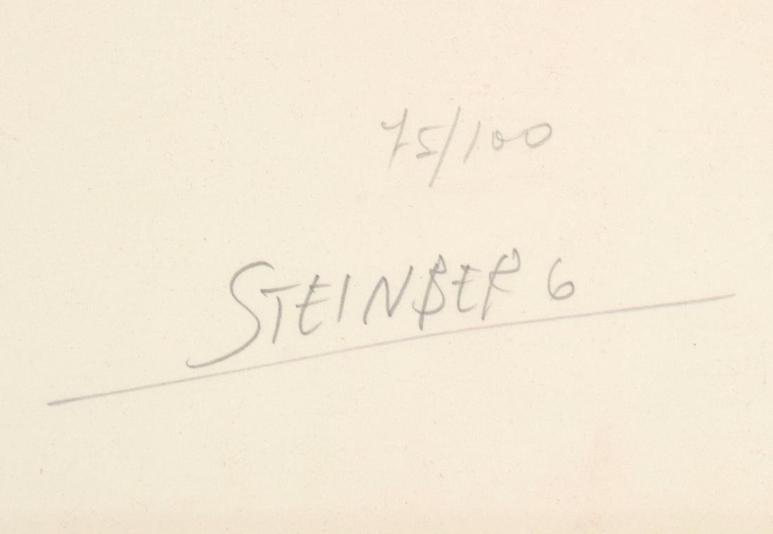 Saul Steinberg PORTRAIT OF R. Lithograph, Signed - 3