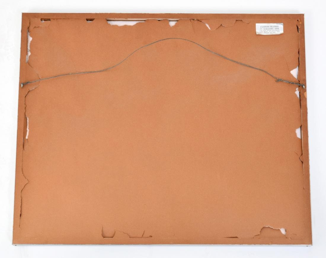Saul Steinberg PORTRAIT OF R. Lithograph, Signed - 4
