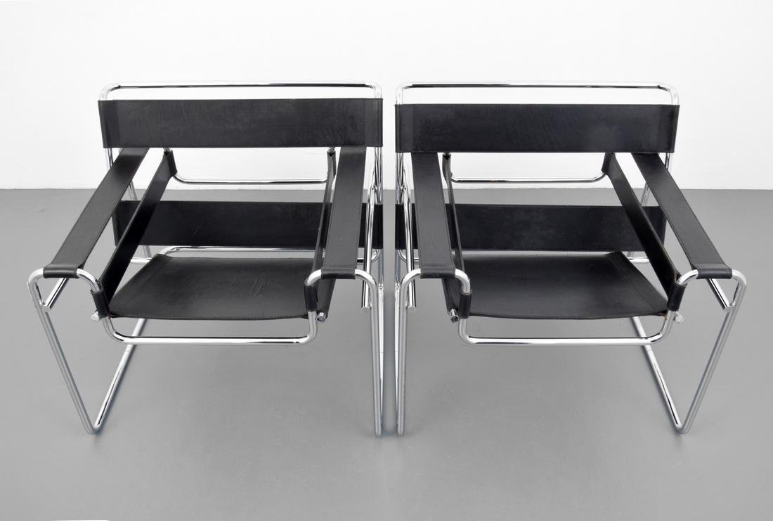 Pair of Marcel Breuer WASSILY Club Chairs - 2