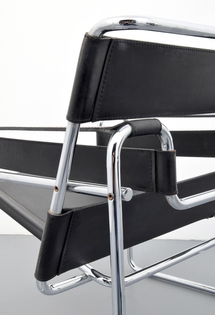Pair of Marcel Breuer WASSILY Club Chairs - 7
