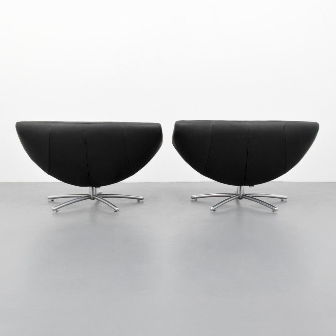 Gerard Van Den Berg GIGI Leather Lounge Chairs - 3
