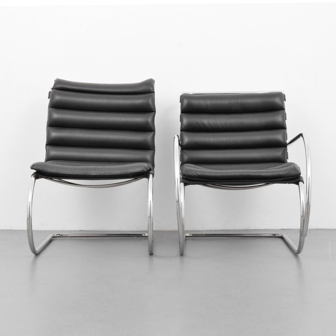 2 Mies Van Der Rohe Cantilever Chairs - 2