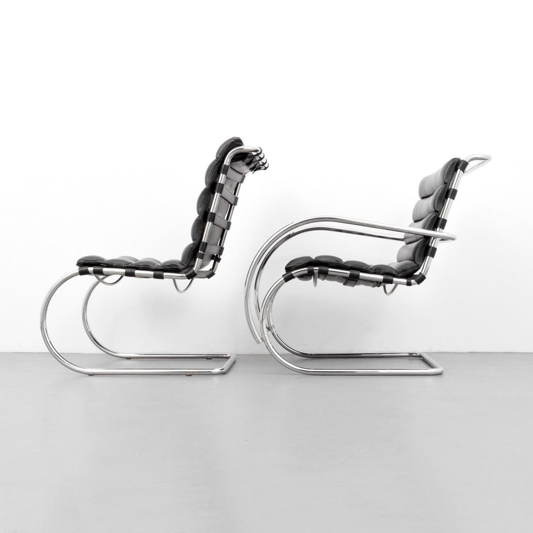 2 Mies Van Der Rohe Cantilever Chairs - 3