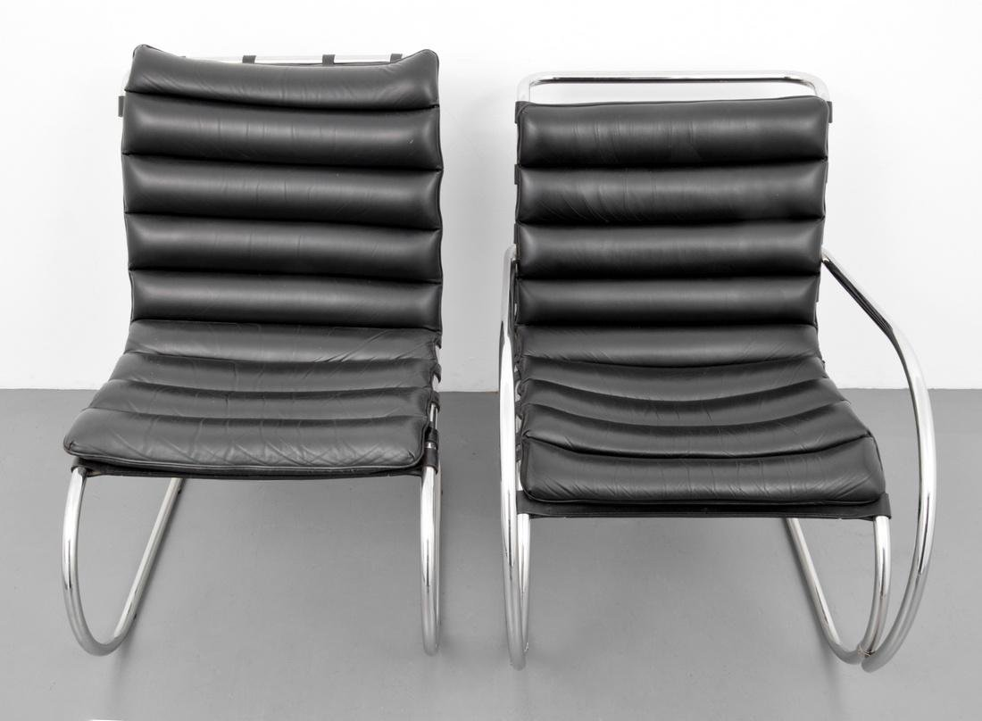 2 Mies Van Der Rohe Cantilever Chairs - 9