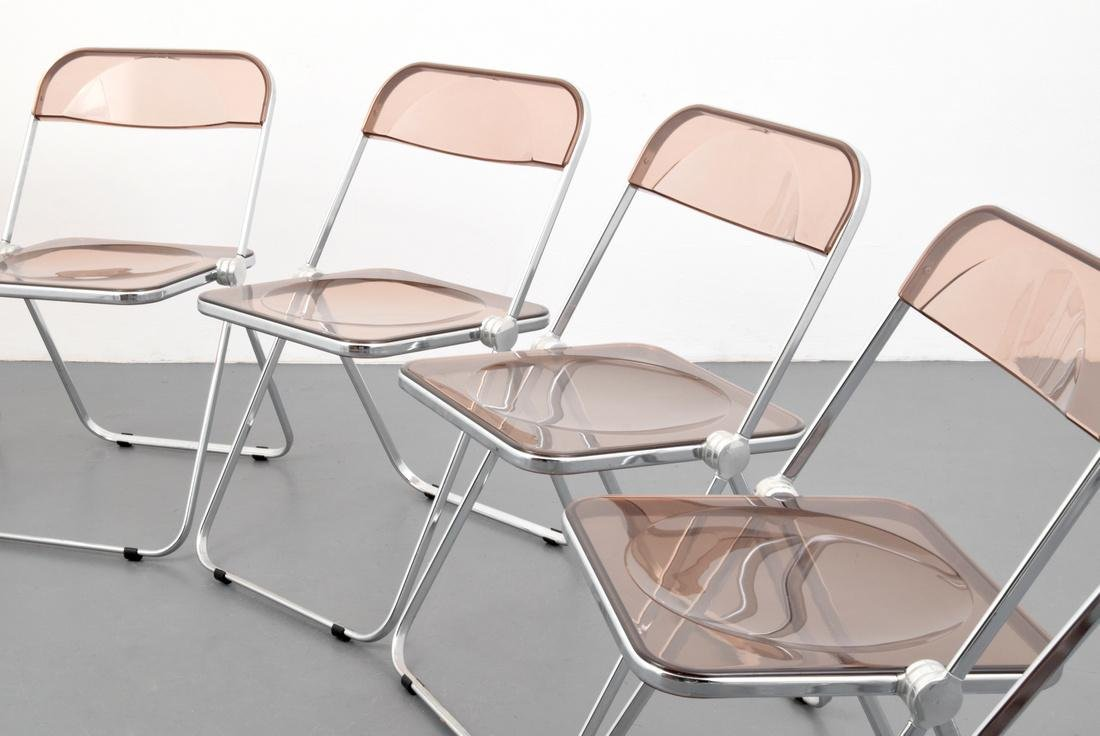 Giancarlo Piretti PLIA Folding Chairs, Set of 6 - 2