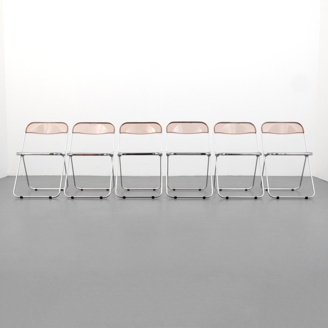 Giancarlo Piretti PLIA Folding Chairs, Set of 6 - 8