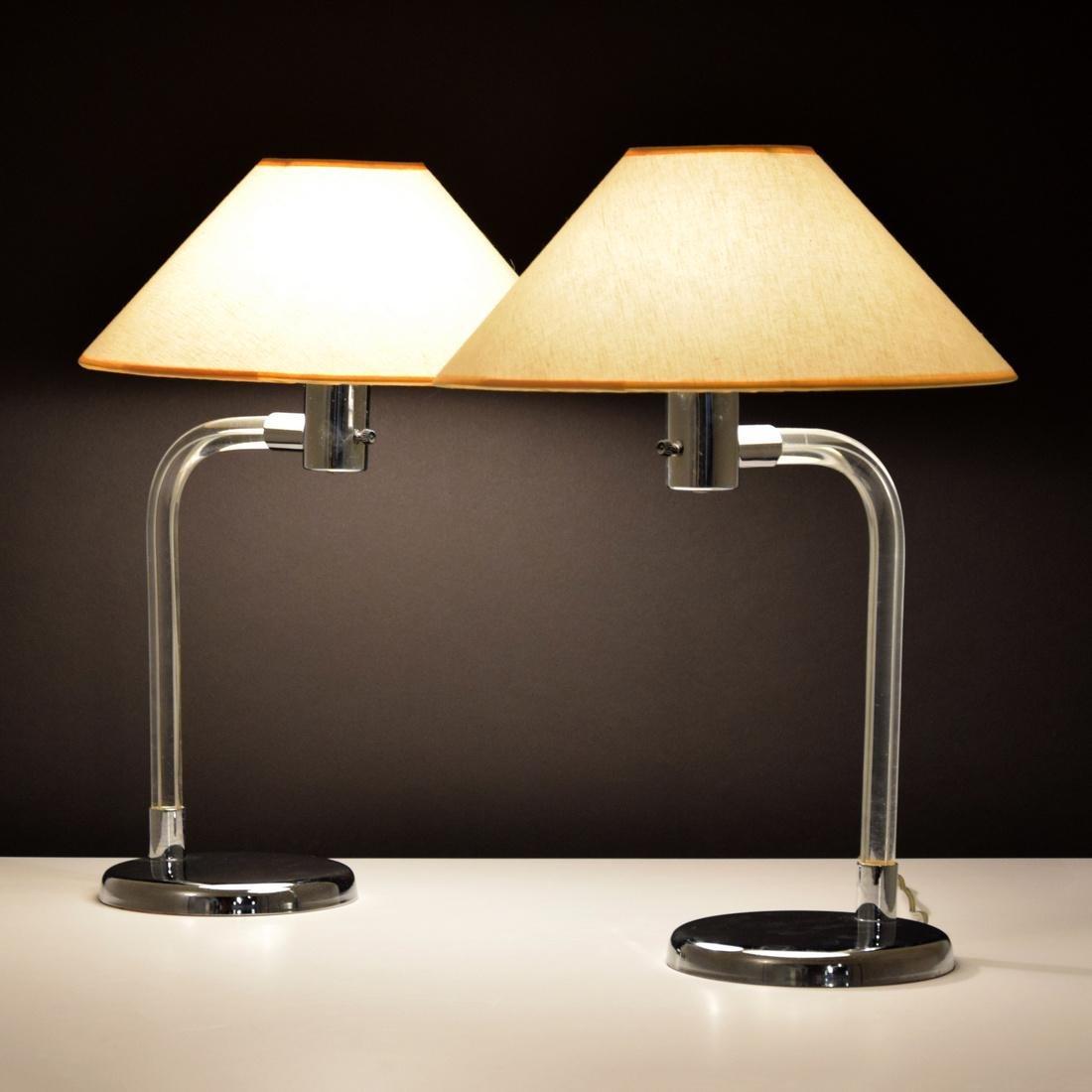 Pair of Peter Hamburger Lamps