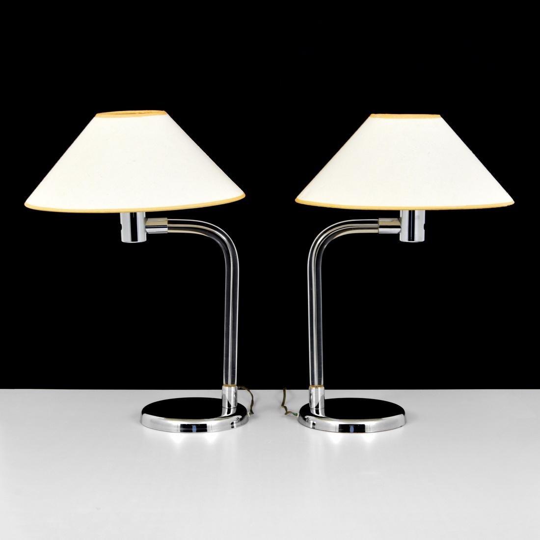 Pair of Peter Hamburger Lamps - 2