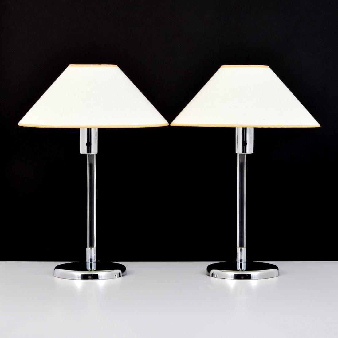 Pair of Peter Hamburger Lamps - 3