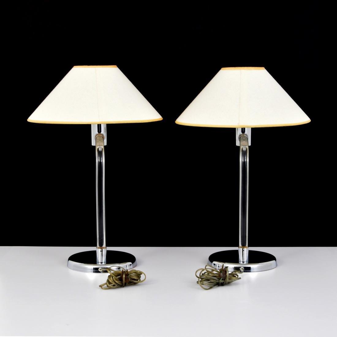 Pair of Peter Hamburger Lamps - 8