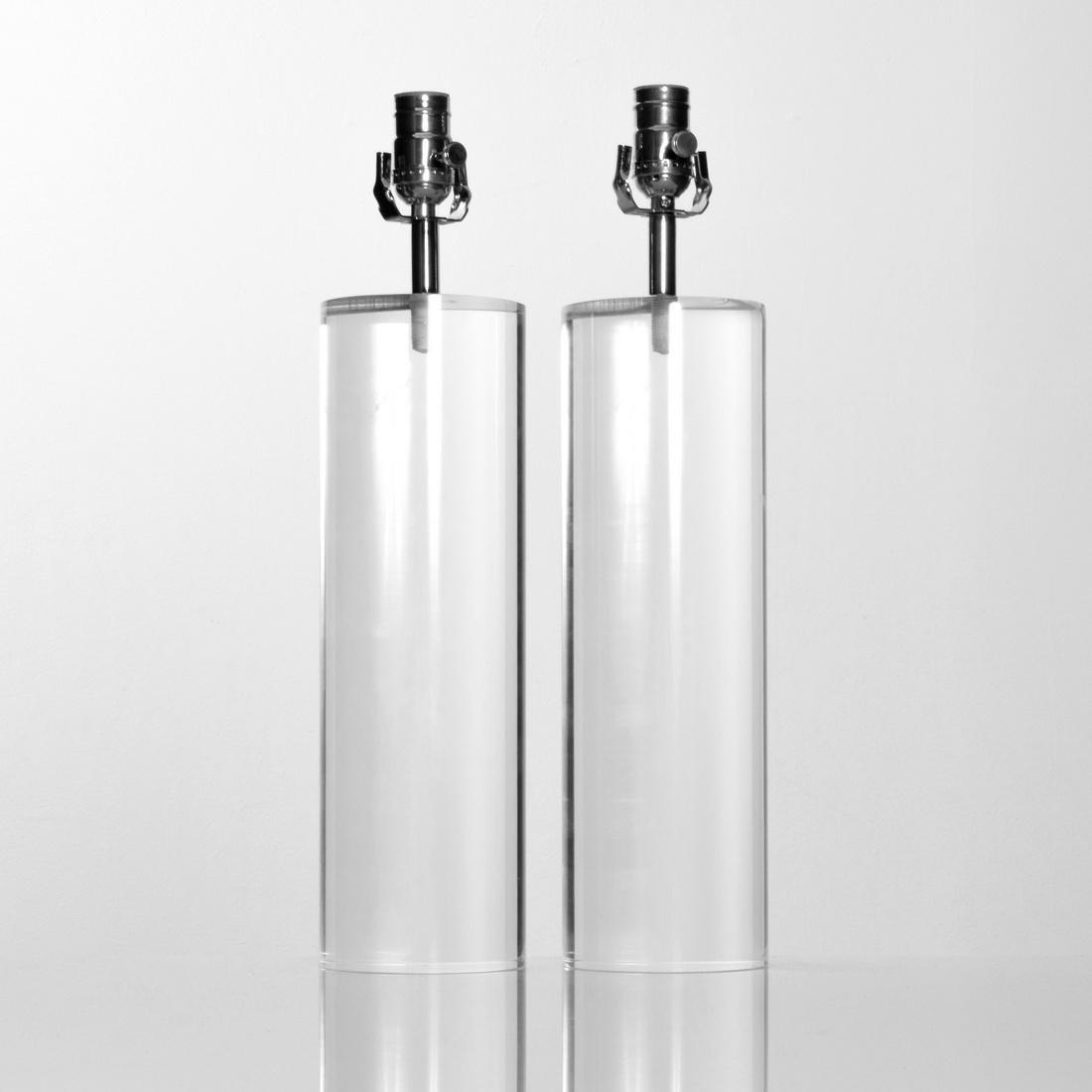 Pair of Lamps, Manner of Karl Springer