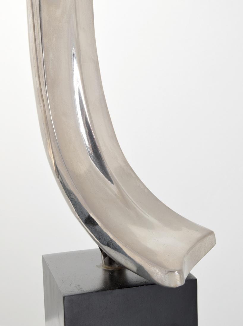 Pair of Maurizio Tempestini Brushstroke Form Lamps - 4