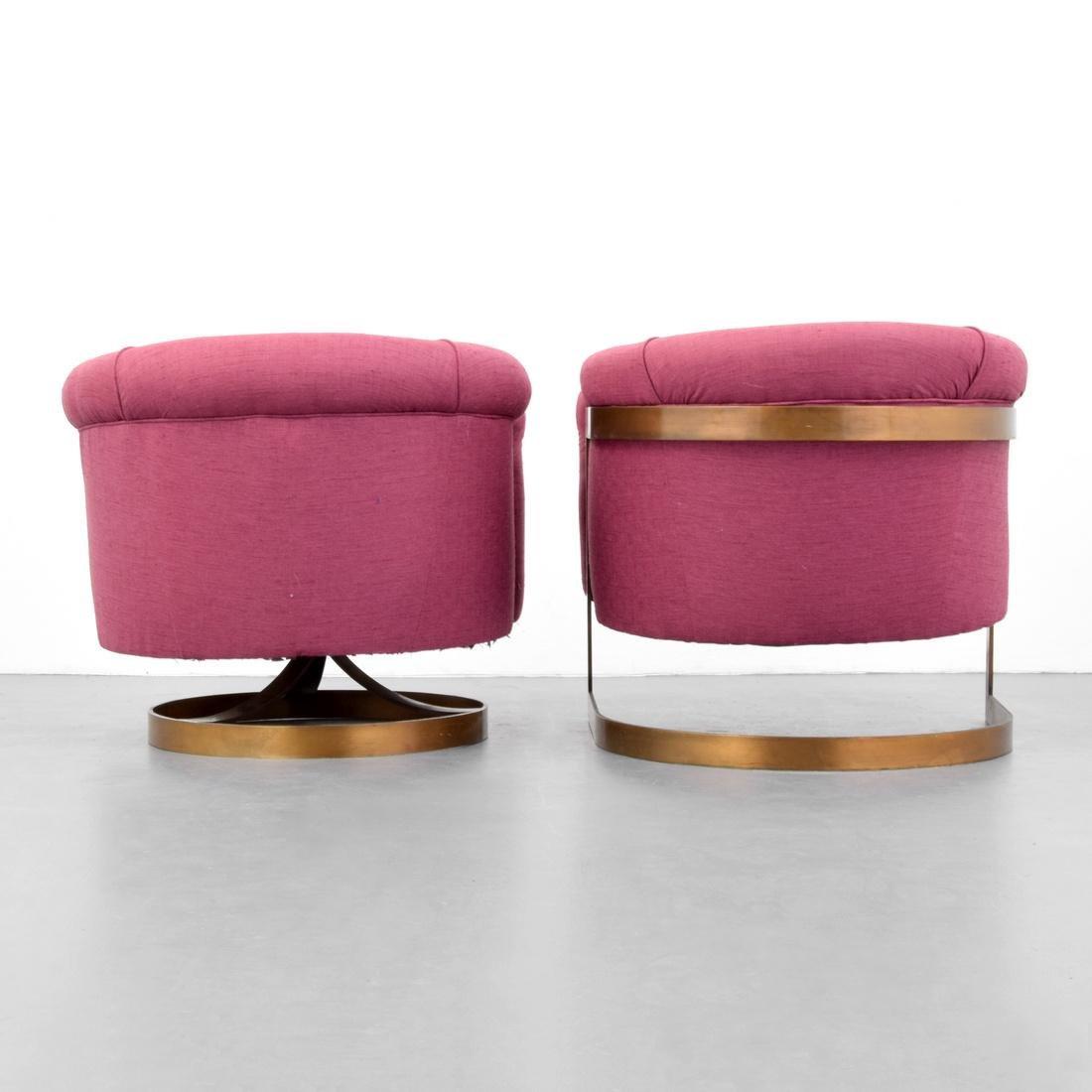 2 Milo Baughman Lounge Chairs - 2