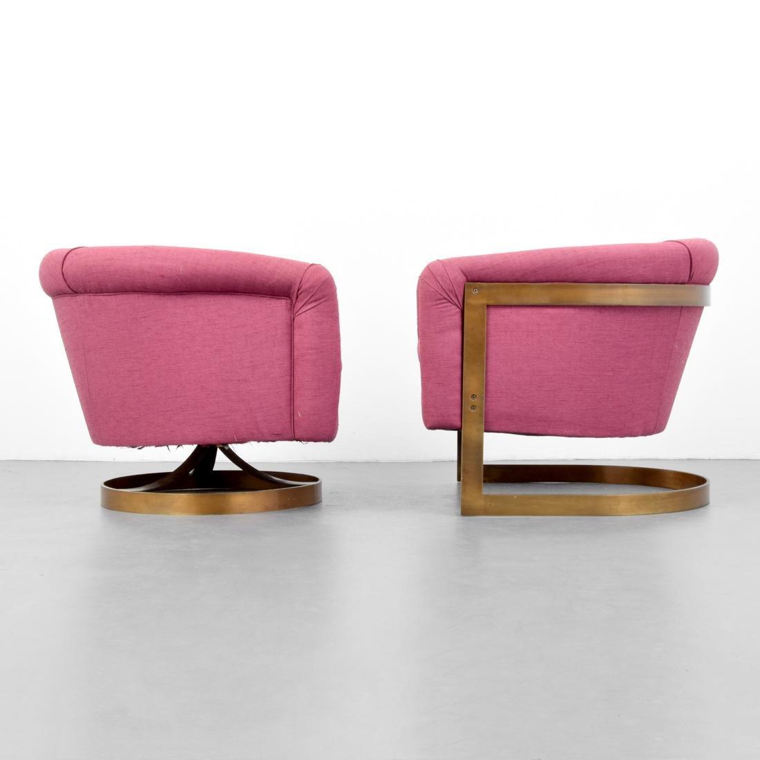 2 Milo Baughman Lounge Chairs - 3