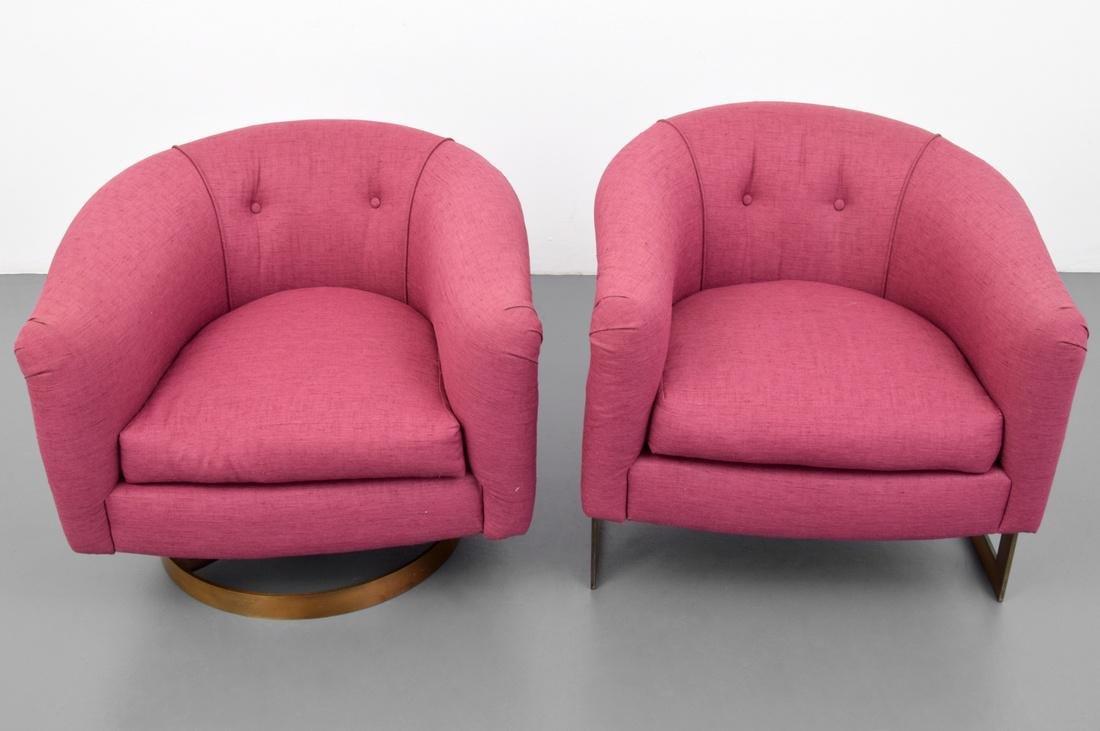2 Milo Baughman Lounge Chairs - 5