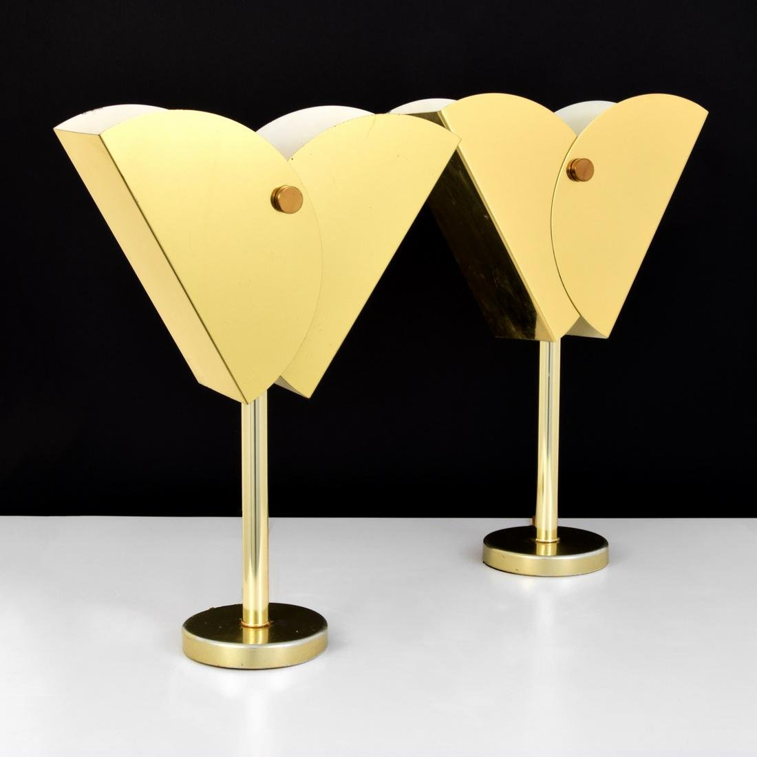Pair of Curtis Jere Lamps