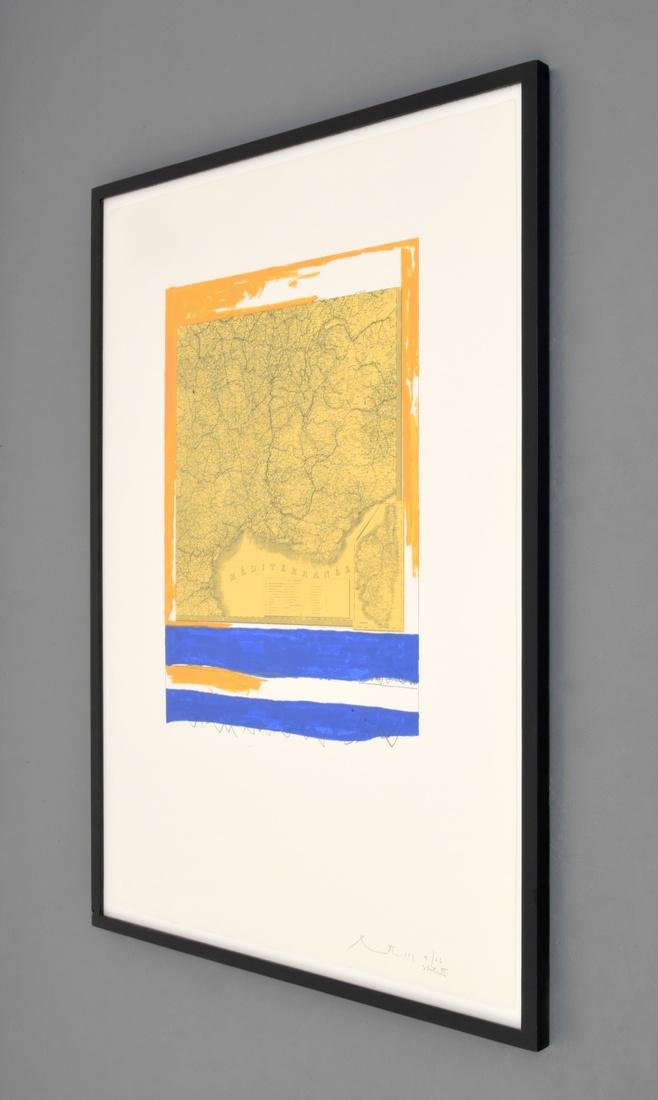 Robert Motherwell Lithograph, Signed Edition - 2