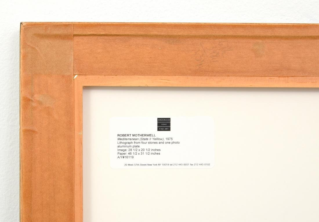 Robert Motherwell Lithograph, Signed Edition - 5
