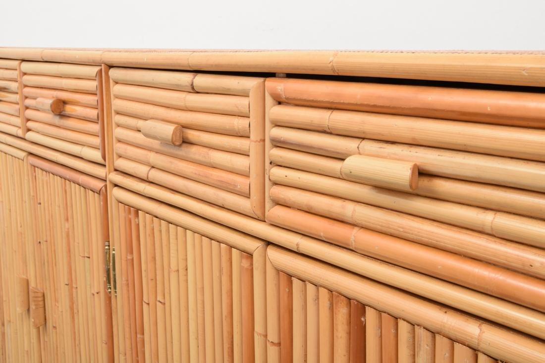 Rattan & Cane Cabinet - 6