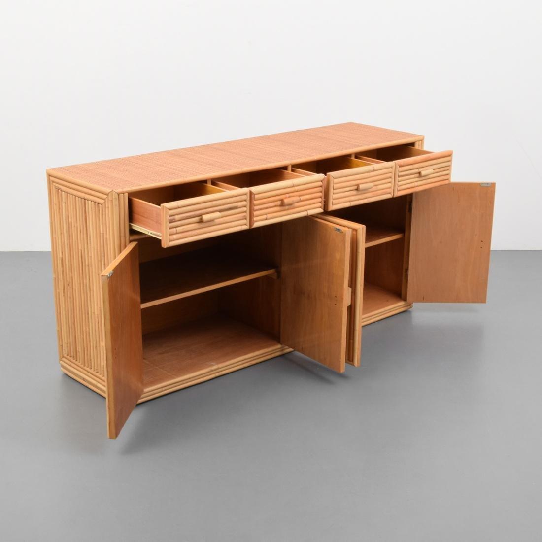 Rattan & Cane Cabinet - 7