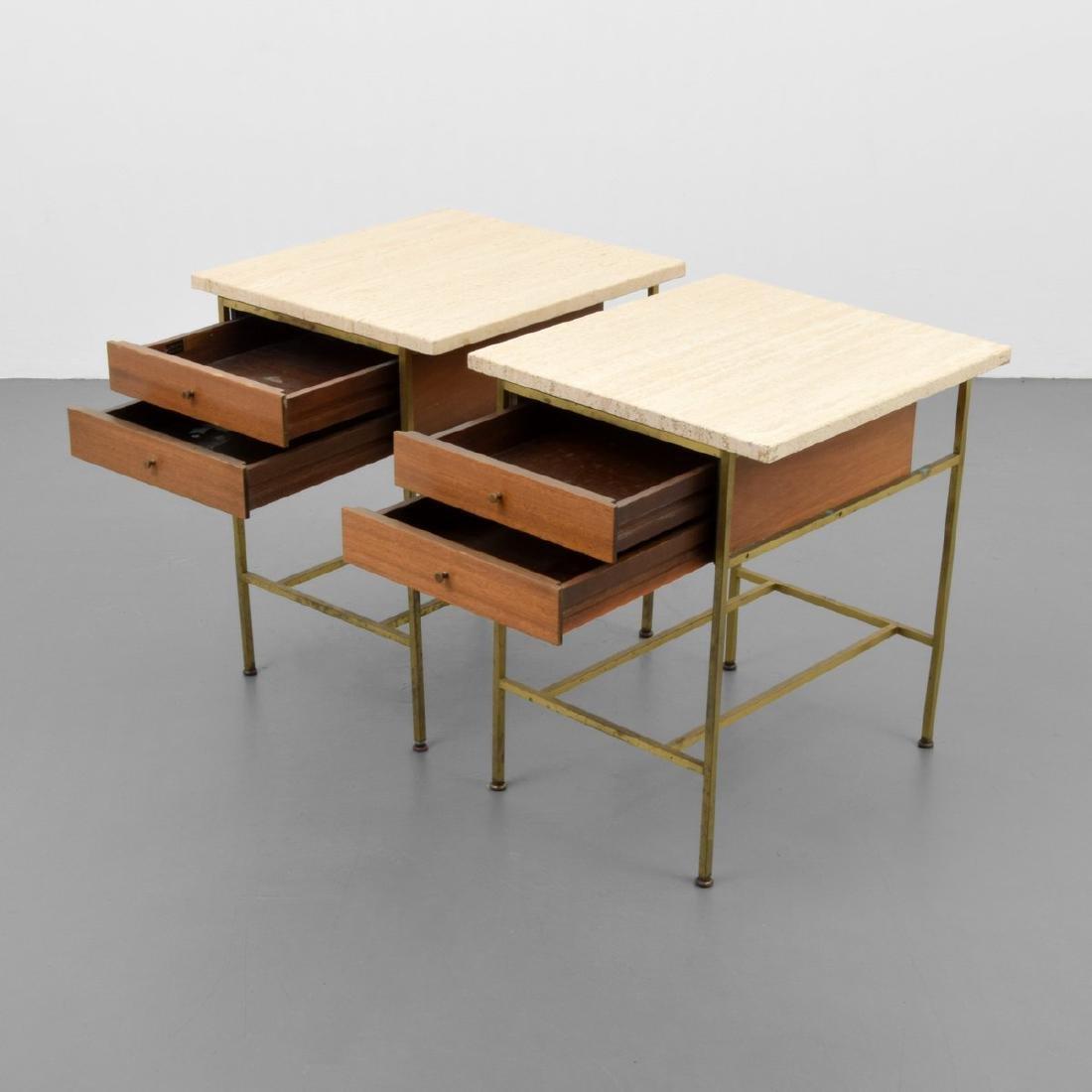 Pair of Paul McCobb Nightstands/Side Tables - 7