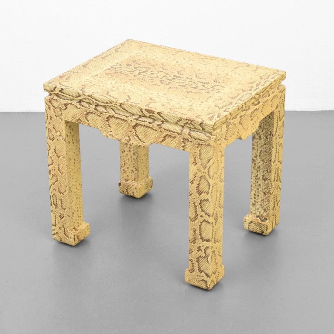 Karl Springer Side Table